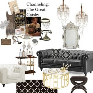 the Great Gatsby ~ by Zuniga Interiors